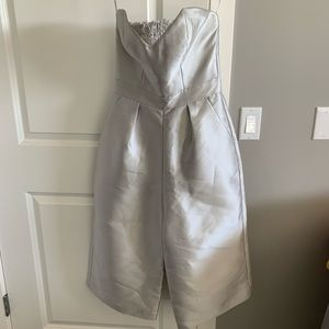 Pants - Paper Crown silver jumpsuit